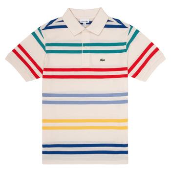 vaatteet Pojat Lyhythihainen poolopaita Lacoste HENRI Multicolour