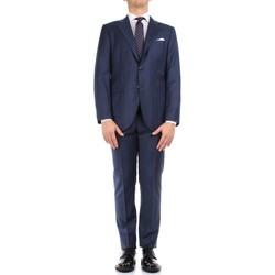 vaatteet Miehet Puvut Kiton 0302S15/25 Blue