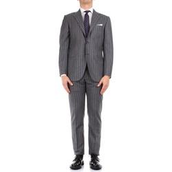 vaatteet Miehet Puvut Kiton 0252S08/2 Grey