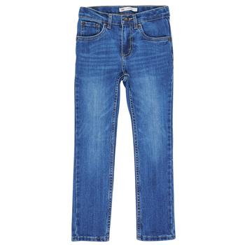 vaatteet Pojat Skinny-farkut Levi's 510 BI-STRETCH Calabasas