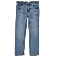 vaatteet Pojat Skinny-farkut Levi's 511 SKINNY FIT Sininen