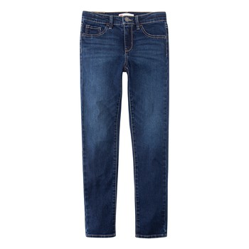 vaatteet Pojat Skinny-farkut Levi's 510 SKINNY FIT Sininen
