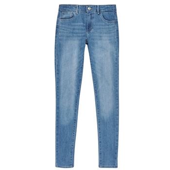vaatteet Tytöt Skinny-farkut Levi's 710 SUPER SKINNY Keira