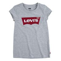 vaatteet Tytöt Lyhythihainen t-paita Levi's BATWING TEE Harmaa