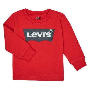 vaatteet Pojat T-paidat pitkillä hihoilla Levi's BATWING TEE LS Red