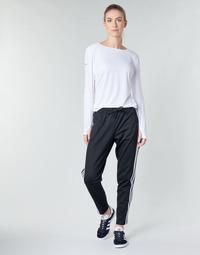 vaatteet Naiset Verryttelyhousut adidas Performance W ID 3S Snap PT Black