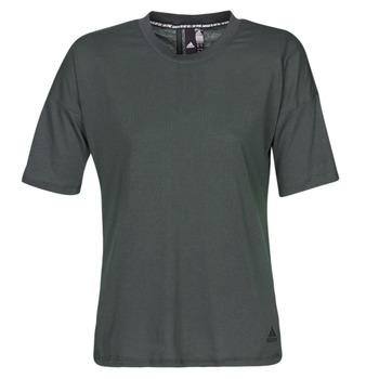 vaatteet Naiset Lyhythihainen t-paita adidas Performance W MH 3S Tee Black