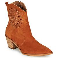 kengät Naiset Nilkkurit Fericelli MEYLIA Cognac