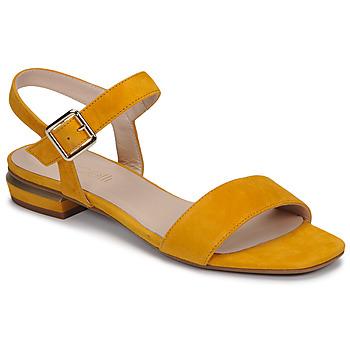 kengät Naiset Sandaalit ja avokkaat Fericelli MADDY Keltainen