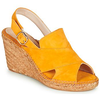 kengät Naiset Sandaalit ja avokkaat Fericelli MARIE Keltainen