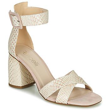 kengät Naiset Sandaalit ja avokkaat Fericelli JEZI White / Pink