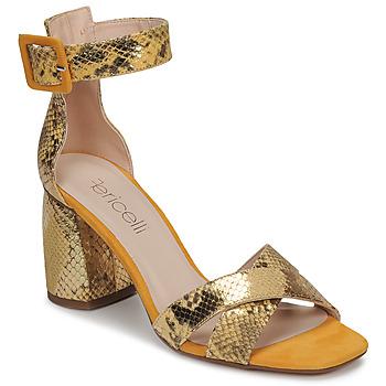 kengät Naiset Sandaalit ja avokkaat Fericelli JEZI Keltainen