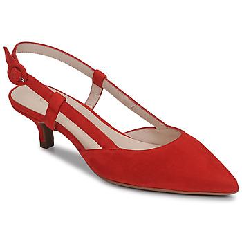 kengät Naiset Korkokengät Fericelli JOLOIE Punainen