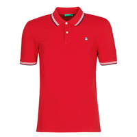 vaatteet Miehet Lyhythihainen poolopaita Benetton GUERY Red
