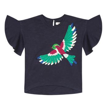 vaatteet Tytöt Lyhythihainen t-paita Catimini MATIGNON Sininen