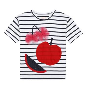 vaatteet Tytöt Lyhythihainen t-paita Catimini KUSY Valkoinen