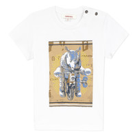 vaatteet Pojat Lyhythihainen t-paita Catimini LARIBI White