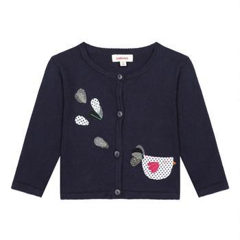 vaatteet Tytöt Neuleet / Villatakit Catimini LOUNA Blue