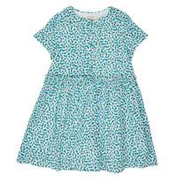vaatteet Tytöt Lyhyt mekko Catimini ELLA Green / Blue