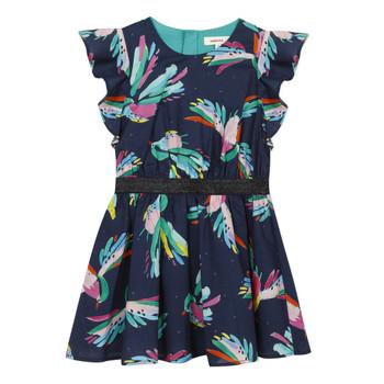 vaatteet Tytöt Lyhyt mekko Catimini CESAR Sininen