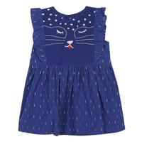 vaatteet Tytöt Lyhyt mekko Catimini CHARLES Sininen