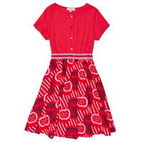 vaatteet Tytöt Lyhyt mekko Catimini MANOA Punainen