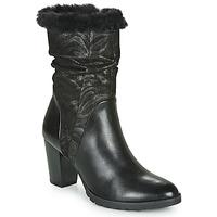 kengät Naiset Saappaat Caprice LOTIMA Black