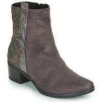 kengät Naiset Bootsit Caprice LINITANE Grey