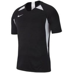 vaatteet Miehet Lyhythihainen t-paita Nike Legend SS Jersey Mustat