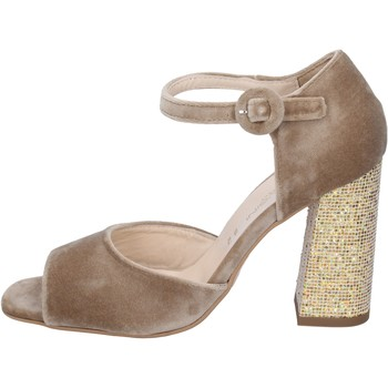 kengät Naiset Sandaalit ja avokkaat Olga Rubini Sandaalit BP361 Beige