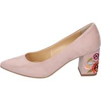 kengät Naiset Korkokengät Olga Rubini decollete camoscio sintetico Rosa
