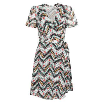vaatteet Naiset Lyhyt mekko Les Petites Bombes V7205 Multicolour