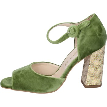 kengät Naiset Sandaalit ja avokkaat Olga Rubini Sandaalit BP385 vihreä