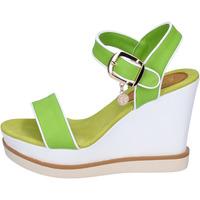 kengät Naiset Sandaalit ja avokkaat Enrico Coveri Sandaalit BP388 vihreä