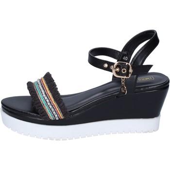 kengät Naiset Sandaalit ja avokkaat Enrico Coveri Sandaalit BP389 Musta
