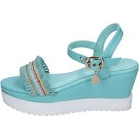 kengät Naiset Sandaalit ja avokkaat Enrico Coveri Sandaalit BP390 Turkoosi