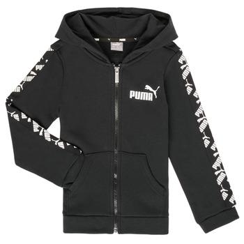 vaatteet Pojat Svetari Puma AMPLI HOOD JKT Black