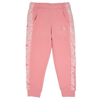 vaatteet Tytöt Verryttelyhousut Puma MONSTER SWEAT PANT GIRL Pink