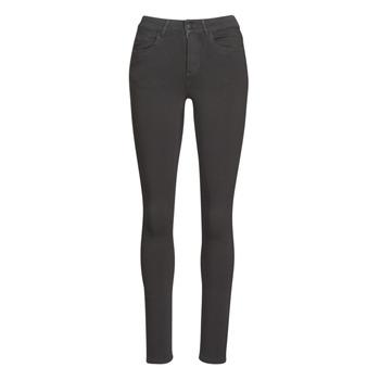 vaatteet Naiset 5-taskuiset housut Vila VICOMMIT Musta