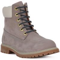 kengät Naiset Bootsit Lumberjack CD017 ANKLE BOOT Grigio