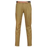 vaatteet Miehet Chino-housut / Porkkanahousut Selected SLHYARD Kamelinruskea