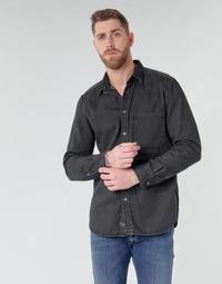 vaatteet Miehet Pitkähihainen paitapusero Diesel D-BER-P Black