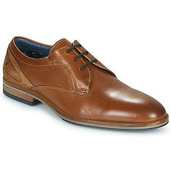 kengät Miehet Derby-kengät Casual Attitude MONA Cognac