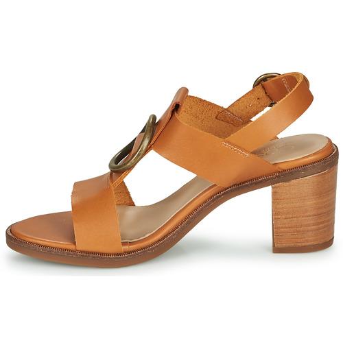 Casual Attitude Melina Camel - Ilmainen Toimitus- Kengät Sandaalit Naiset 53