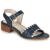 kengät Naiset Sandaalit ja avokkaat Casual Attitude RINEILUE Black / Hopea
