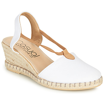 kengät Naiset Sandaalit ja avokkaat Casual Attitude MAYA Valkoinen