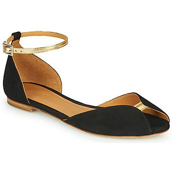 kengät Naiset Sandaalit ja avokkaat Emma Go JULIETTE Black / Kulta