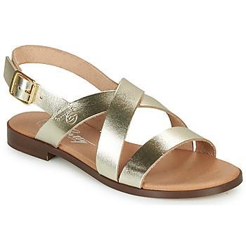 kengät Naiset Sandaalit ja avokkaat Betty London MADISSON Kulta