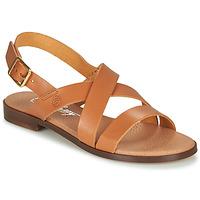 kengät Naiset Sandaalit ja avokkaat Betty London MADI Cognac