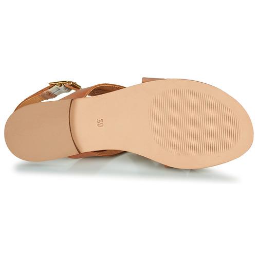 Betty London Madi Cognac - Ilmainen Toimitus- Kengät Sandaalit Naiset 59